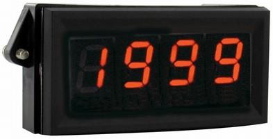 Digital Panel Meter features adjustable LCD settings.