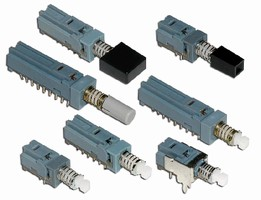 Pushbutton Switches feature subminiature design.