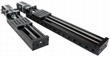 Motorized Linear Stage offers max travel of 300 mm.