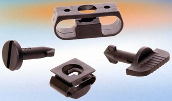 Plastic Quick-Access Fasteners suit low-load applications.