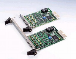 Analog Output Card includes auto-calibration function.