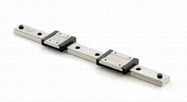 Rail Guides suit limited-space linear motion systems.