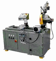 Automatic Cold Saw provides infinitely adjustable rate.