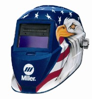 Welding Helmets include magnifying lens holder.
