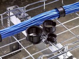 Reusable Bundler helps organize cables.