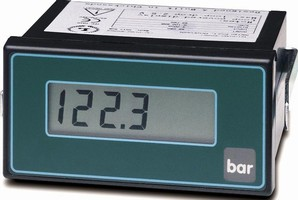 Process Meter is powered directly by current loop.
