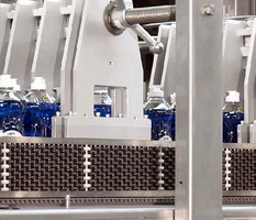 Beaded Lane Guide enables jam-free packing lines.