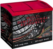 Multi Dimensional Resources Unveils Customizable Coolers and Freezers for Marketing Beverages and Foods at Retail