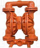 Aluminum Diaphragm Pumps operate up to 125 psig.