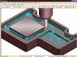 CAD/CAM Software is optimized for toolpath control