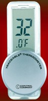 Refrigerator Thermometer is traceable to NIST standards.