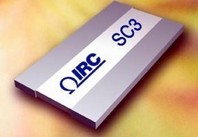 IRC Extends Resistance Range, Voltage Rating of Hight Power Chip Resistors