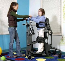 Standing Frame aids youth wheelchair users.