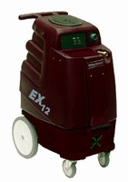 Carpet Extractors come with or without heating system.