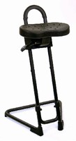 Sit-Stand Stools support workers who can't sit down on job.