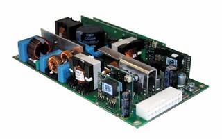 AC-DC Power Supplies provide 300 W.