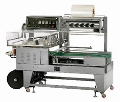 Intermediate Automatic L-Sealer processes 25 packages/min.