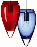 Glass Ceiling Pendants illuminate commercial interiors.