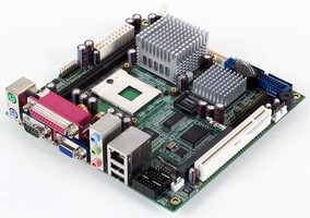 Mini-ITX Motherboards offer multiple connectivity options.