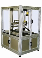 Guarding Systems feature standardized modular frames.