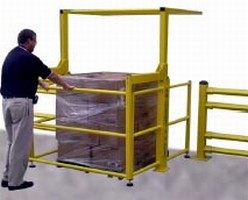 Mezzanine Safety Gate helps prevent falls and injuries.