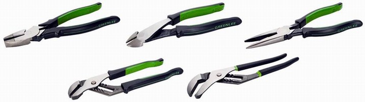 Professional Pliers are offered in multiple styles.