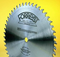 Forrest Manufacturing's Concave Face Blade Delivers Chip-Free Cuts on Melamine Board