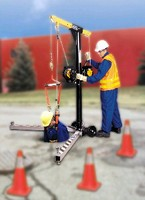 Davit System enables confined space entry and retrieval.
