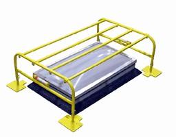 Guard provides non-penetrating skylight protection.