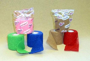 Disposable Latex-free Cohesive Bandage Wrap for Podiatry, Orthopedics and Phlebology