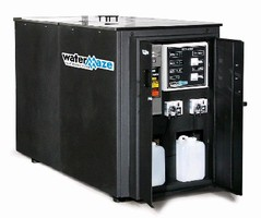 Treatment System handles pressure washing wastewater.