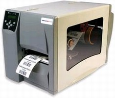 Thermal Transfer Printer provides 6 ips print speed.