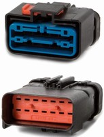 Electrical Connectors have heavy-duty, in-line design.
