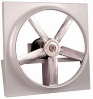 Direct Drive Panel Fan employs TEFC industrial-duty motor.