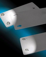 Fasteners enable panel-on-panel attachment and detachment.