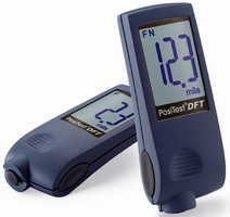 Coating Thickness Gauge can be read from any position.