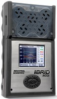 Datalogging Gas Monitor features full-color LCD screen.
