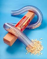 PVC Hose compresses at 3:1 ratio.