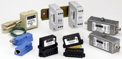 Surge Protection Devices suit data/signal line applications.