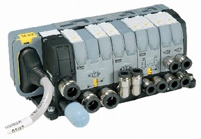 Dual 4-Way Valves include manual override feature.