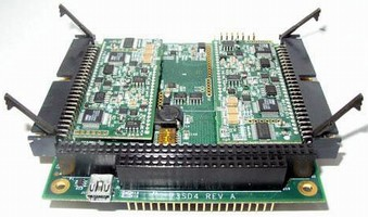Synchro/Resolver-to-Digital Converter comes on PC-104 card.