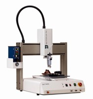 I&J7400C Dispensing Robot - Selective Coating Avoids Contamination