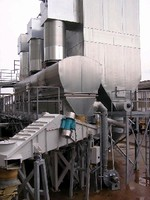 Aggregate Dryer/Cooler minimizes energy usage.