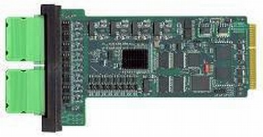 I/O Modules have overspeed control with 500 µsec throughput.