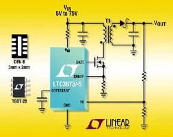 DC/DC Controller features 50 µA start up current.