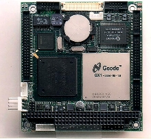 PC/104 CPU Module has built-in Ethernet chip.