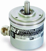 Compact Incremental Encoder provides 162,560 counts max.