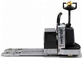 Motorized Hand Pallet Truck helps reduce operator fatigue.
