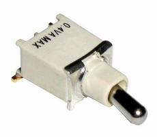 Toggle Switch is designed for surface mounting.