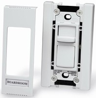 Commercial Dimmers eliminate multi-gang box concerns.